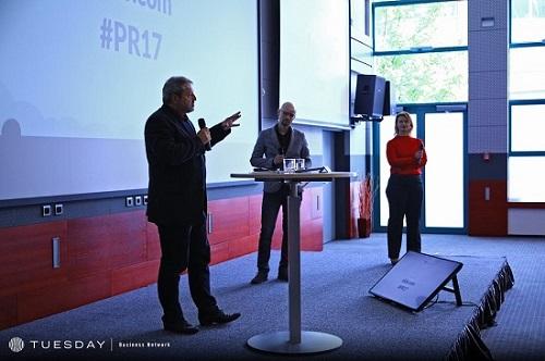 Ivo Minařík, Vladimír Rejlek a Markéta Kaclová, foto: Internet Info
