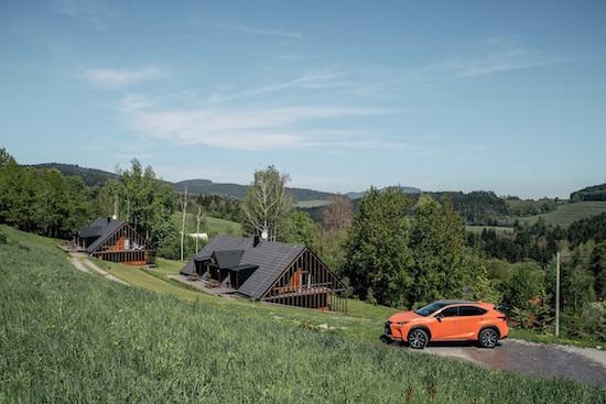 Projekt Zažít Lexus na Šumavě